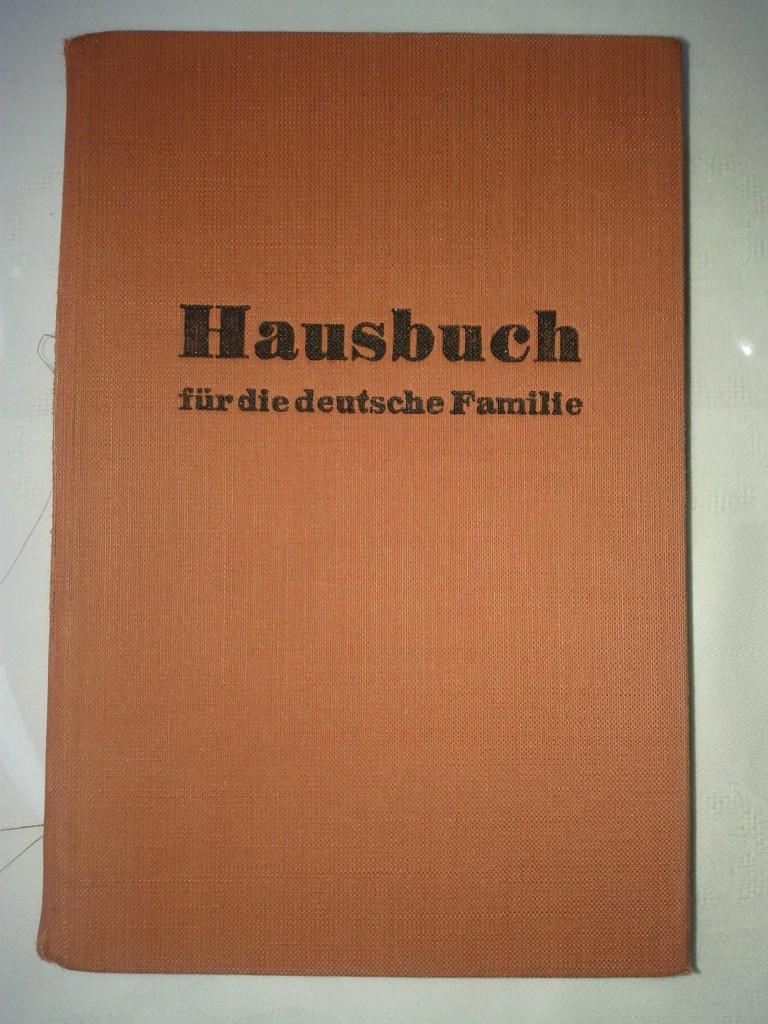 Hausbuch für die deutsche Familie von 1950 (Cover)