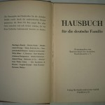 Hausbuch für die deutsche Familie von 1950 (Titel)