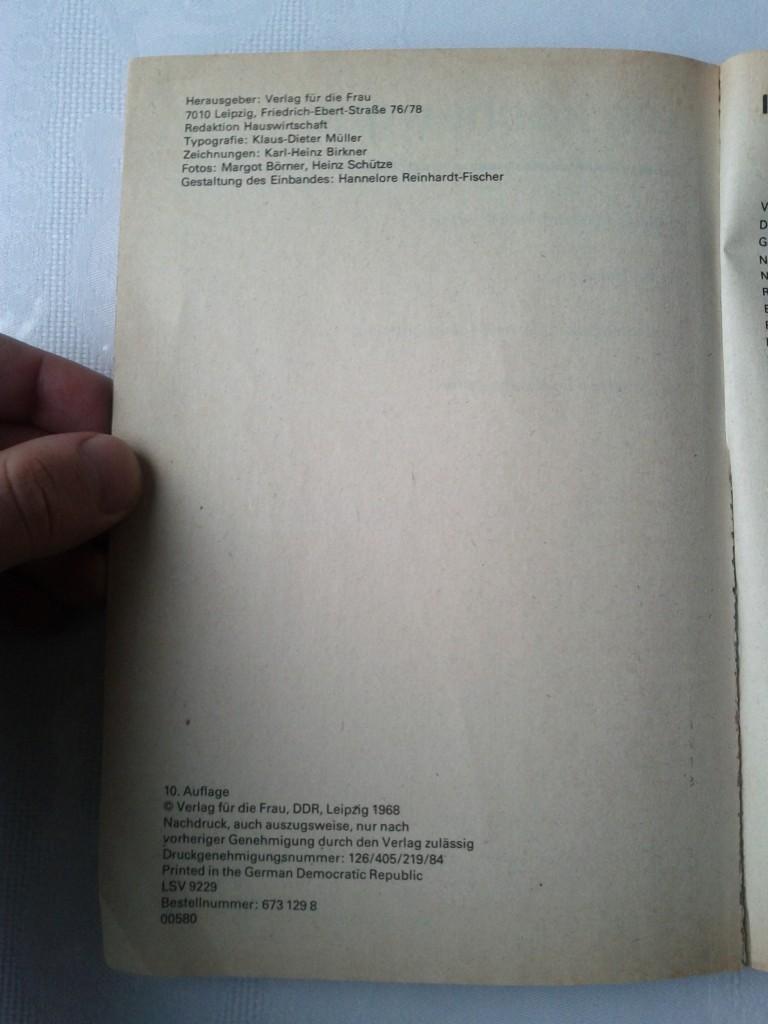 Wir kochen gut (10. Auflage) (Copyright)