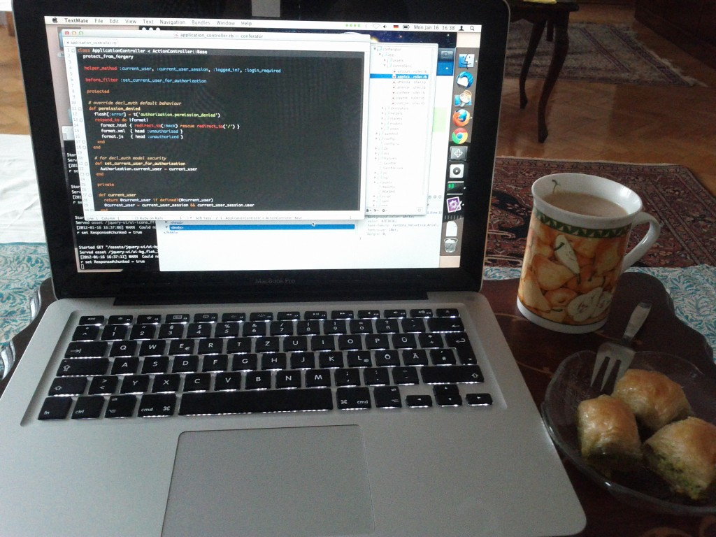 Code, Coffee and Baklava