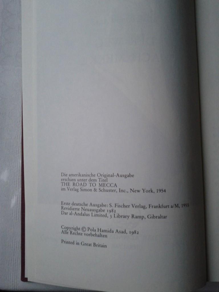 Der Weg nach Mekka von 1982 (Copyright)