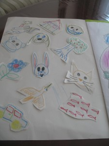 "Drawing a ""Zoo"" With a Two-year-old"
