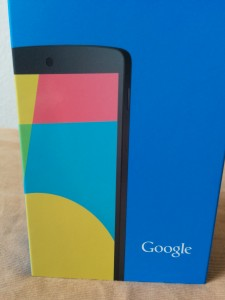 Nexus 5 Package