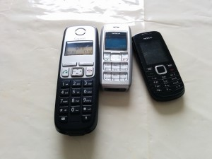 Phones on the Kitchen Table